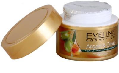 Eveline Cosmetics Argan & Olive odżywczy krem na noc przeciw zmarszczkom 3