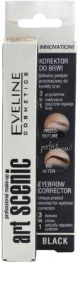 Eveline Cosmetics Art Scenic коректор  за вежди 4