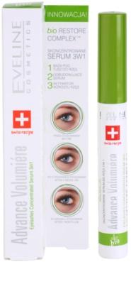 Eveline Cosmetics Advance Volumiere sérum concentrado  para as pestanas 3 em 1 2