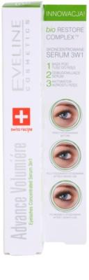 Eveline Cosmetics Advance Volumiere sérum concentrado  para as pestanas 3 em 1 3