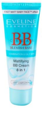 Eveline Cosmetics BB Cream matirajoča BB krema 8 v 1