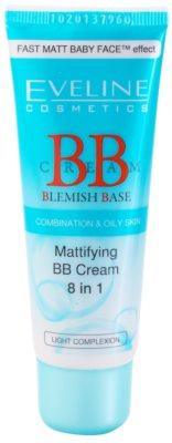 Eveline Cosmetics BB Cream mattító BB krém 8 in 1