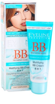 Eveline Cosmetics BB Cream crema BB matifianta 8 in 1 1