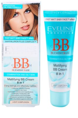 Eveline Cosmetics BB Cream crema BB matifianta 8 in 1 2
