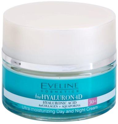 Eveline Cosmetics BioHyaluron 4D nappali és éjszakai krém 30+