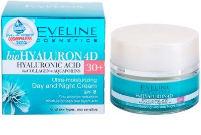 Eveline Cosmetics BioHyaluron 4D дневен и нощен крем 30+ 2