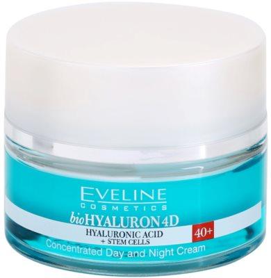Eveline Cosmetics BioHyaluron 4D creme de dia e noite  40+