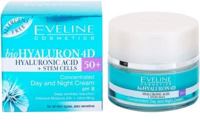 Eveline Cosmetics BioHyaluron 4D denní a noční krém 50+ 3