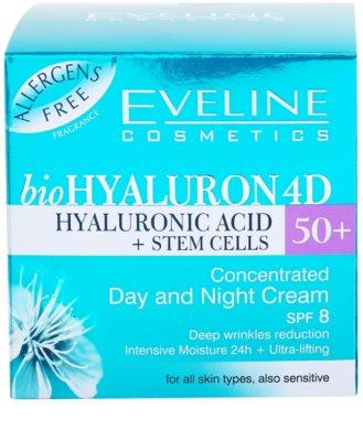 Eveline Cosmetics BioHyaluron 4D denní a noční krém 50+ 4
