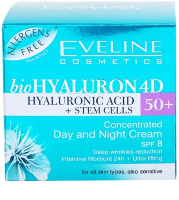Eveline Cosmetics BioHyaluron 4D krem na dzień i na noc 50+ 4