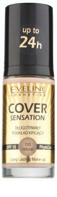 Eveline Cosmetics Cover Sensation base corretora de imperfeições