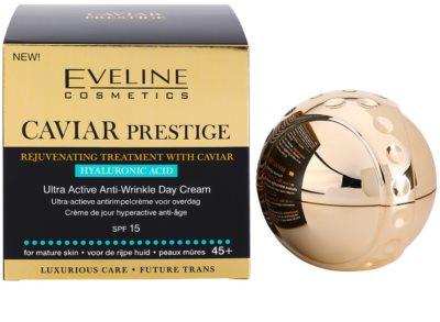 Eveline Cosmetics Caviar Prestige 45+ dnevna krema proti gubam 3