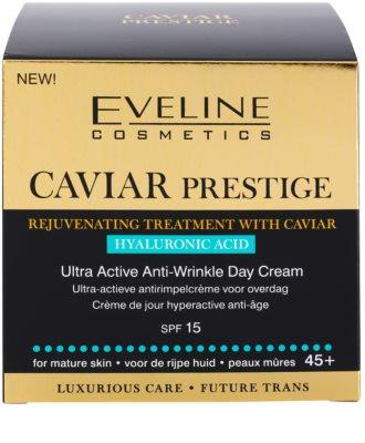 Eveline Cosmetics Caviar Prestige 45+ dnevna krema proti gubam 4