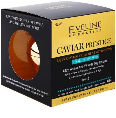 Eveline Cosmetics Caviar Prestige 45+ dnevna krema proti gubam 5