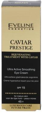 Eveline Cosmetics Caviar Prestige 45+ krema za predel okoli oči s kaviarjem 1