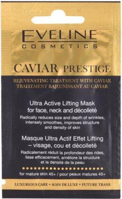 Eveline Cosmetics Caviar Prestige 45+ máscara de pele antirrugas