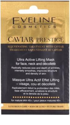 Eveline Cosmetics Caviar Prestige 45+ маска для шкіри обличчя проти зморшок