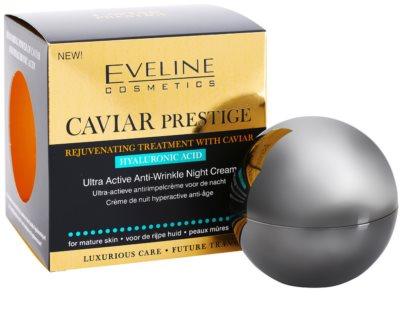 Eveline Cosmetics Caviar Prestige 45+ creme de noite antirrugas 2