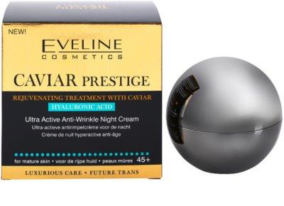 Eveline Cosmetics Caviar Prestige 45+ creme de noite antirrugas 3