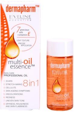 Eveline Cosmetics Dermapharm telový olej 8 v 1 2