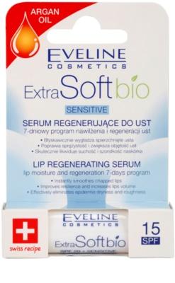 Eveline Cosmetics Extra Soft Bio регенериращ серум за устни