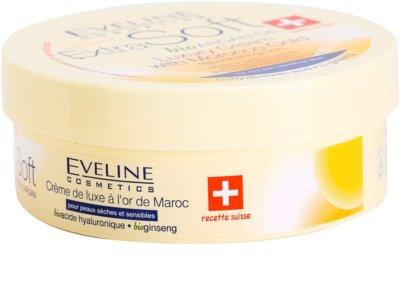 Eveline Cosmetics Extra Soft creme de luxo com ouro marroquino