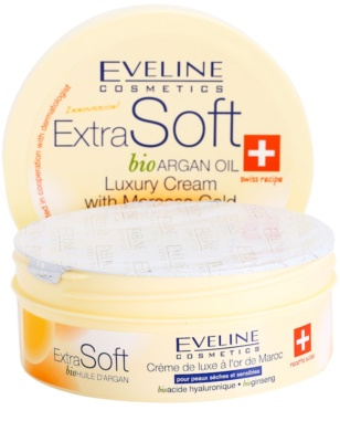 Eveline Cosmetics Extra Soft Luxuscreme mit Arganöl 1