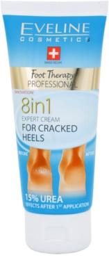 Eveline Cosmetics Foot Therapy crema pentru calcaie crapate 8 in 1