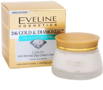 Eveline Cosmetics 24k Gold & Diamonds creme de dia antirrugas 2