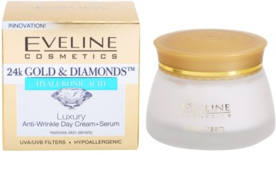 Eveline Cosmetics 24k Gold & Diamonds creme de dia antirrugas 3