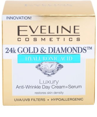 Eveline Cosmetics 24k Gold & Diamonds creme de dia antirrugas 4