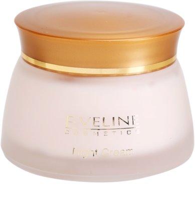 Eveline Cosmetics 24k Gold & Diamonds crema de noapte cu efect de intinerire
