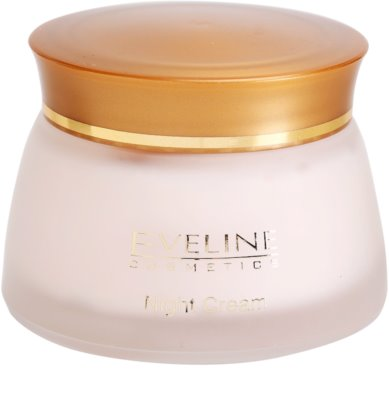 Eveline Cosmetics 24k Gold & Diamonds creme de noite rejuvenescedor