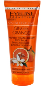 Eveline Cosmetics SPA Professional Ginger Orange intenzivní zpevňující gel