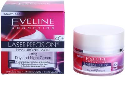 Eveline Cosmetics Laser Precision creme de dia e noite para tratamento antirrugas 40+ 3