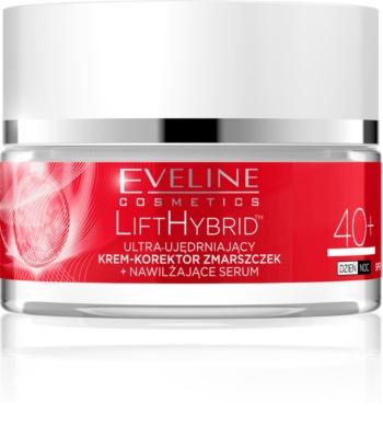 Eveline Cosmetics Lift Hybrid зміцнюючий крем для корекції зморшок SPF 8