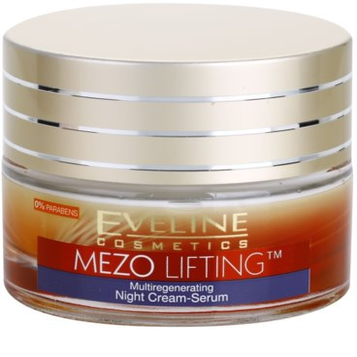 Eveline Cosmetics Mezo Lifting creme de noite multiregenerativo - sérum
