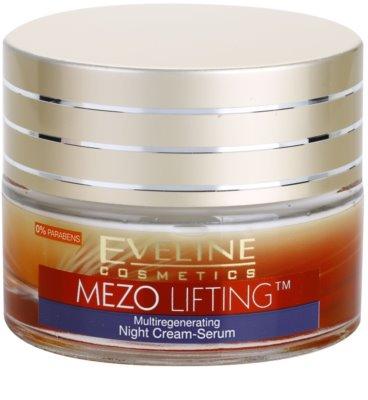 Eveline Cosmetics Mezo Lifting Ser-crema de noapte cu efect de multiregenerare
