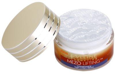 Eveline Cosmetics Mezo Lifting Ser-crema de noapte cu efect de multiregenerare 1