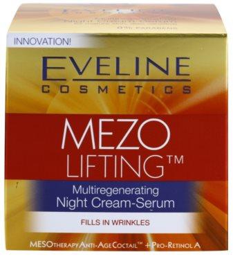 Eveline Cosmetics Mezo Lifting Ser-crema de noapte cu efect de multiregenerare 4
