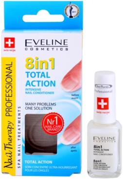 Eveline Cosmetics Nail Therapy балсам за нокти 8 в 1 2
