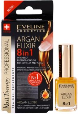 Eveline Cosmetics Nail Therapy regenerierendes Elixier Für Nägel und Nagelhaut 2