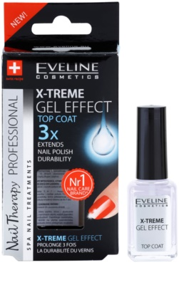 Eveline Cosmetics Nail Therapy fedő körömlakk a magas fényért 1