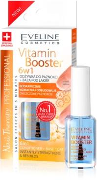 Eveline Cosmetics Nail Therapy Professional вітамінний кондиціонер для нігтів 6 в 1