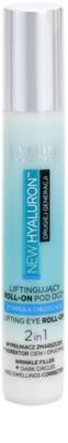 Eveline Cosmetics New Hyaluron Lifting-Augen Roll-On mit kühlender Wirkung 2in1