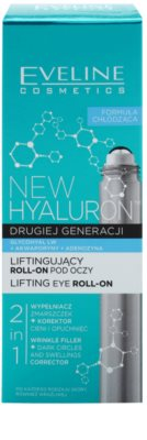Eveline Cosmetics New Hyaluron liftingový oční roll-on s chladivým efektem 2 v 1 2