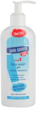 Eveline Cosmetics Pure Control tisztító gél mélytisztításhoz