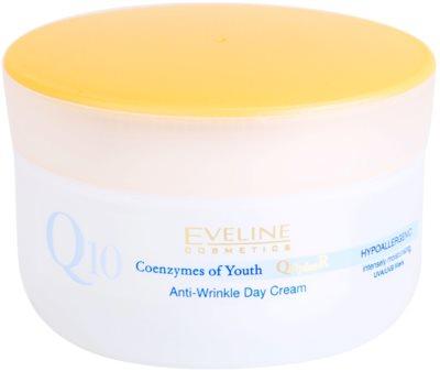 Eveline Cosmetics Q10 + R crema de día  antiarrugas  para pieles normales y secas