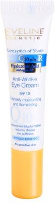 Eveline Cosmetics Q10 + R przeciwzmarszczkowy krem pod oczy SPF 10
