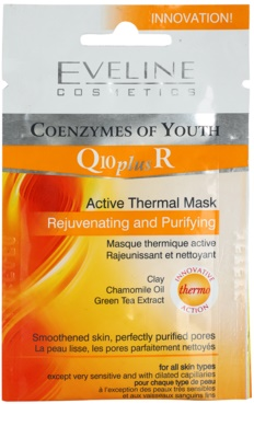 Eveline Cosmetics Q10 + R mascarilla termoactiva